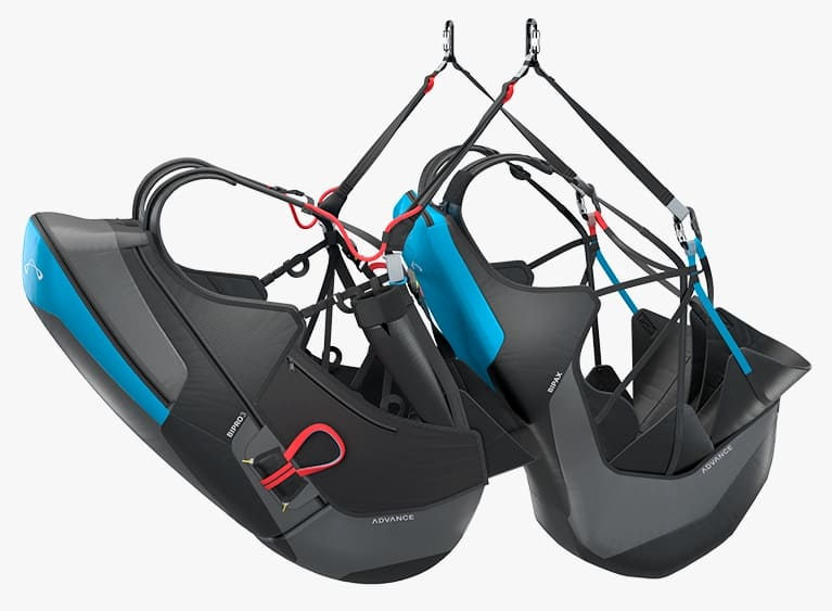 New paragliding harness Advance Bipax for sale