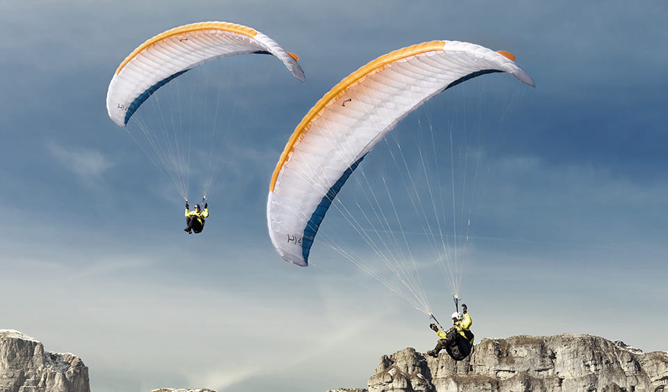 New paragliding wing Advance Pi 2 for sale