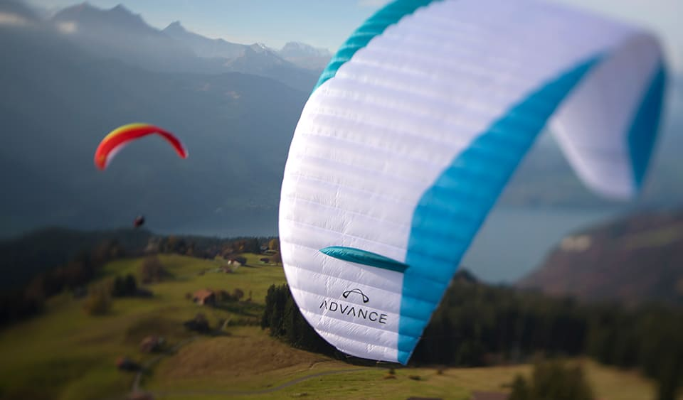 New tandem paragliding wing Advance Bibeta 6 for sale