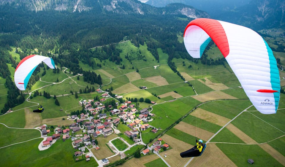 New paragliding wing Advance XI for sale