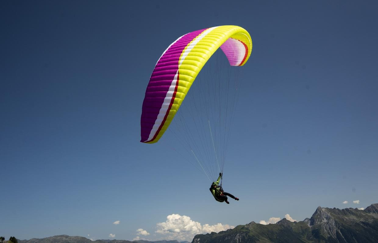 New paraglider Rise 4 AirDesign