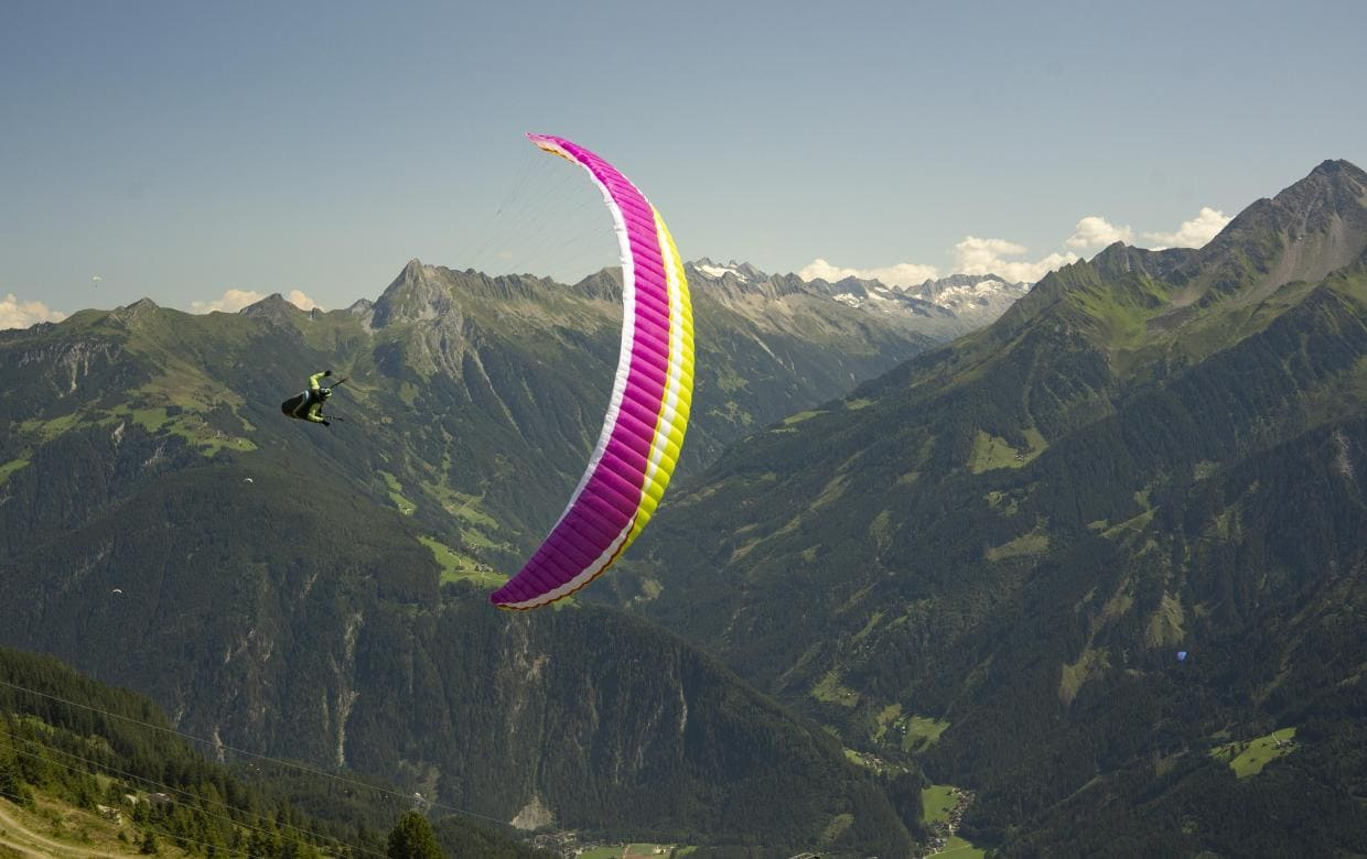 New paragliding wing AirDesign Rise 4 for sale