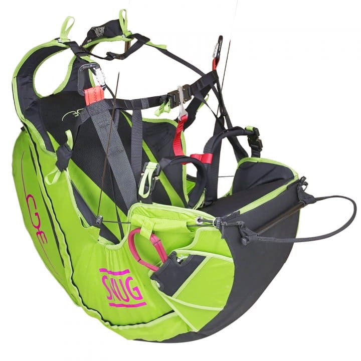 Paragliding harness BGD Snug for sale