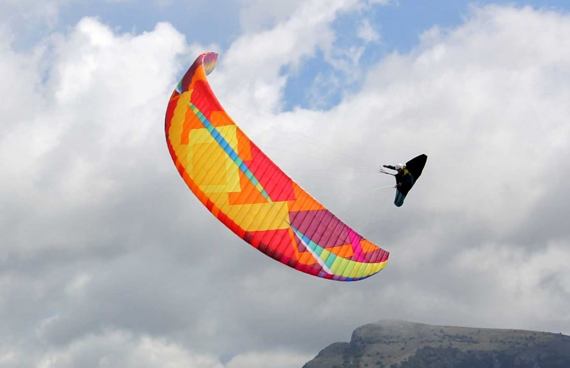 New paragliding wing BGD Base 2 for sale