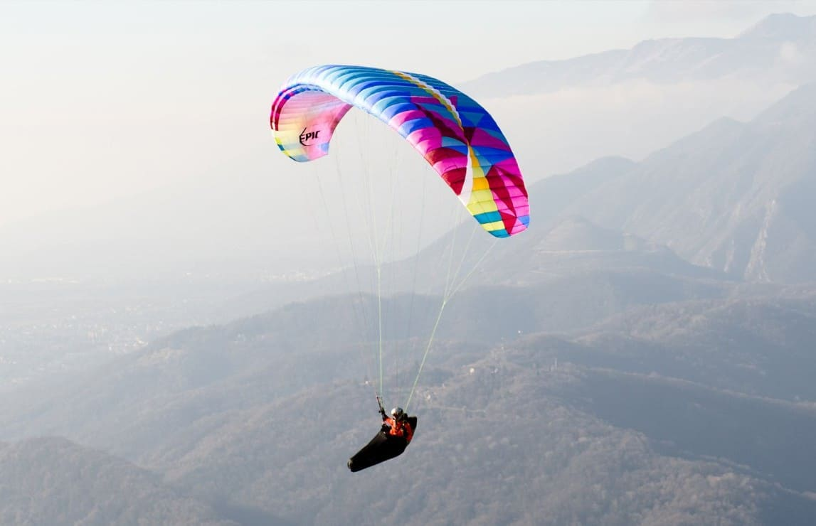 New paragliding wing BGD Epic for sale