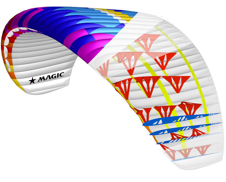 New paragliding wing BGD Magic for sale
