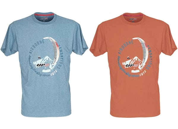 T-shirt circle UP paragliders for sale