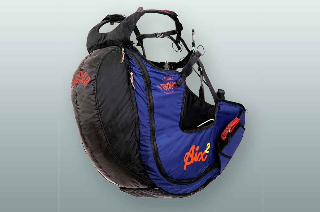 New acro paragliding harness Icaro Aix 2 for sale