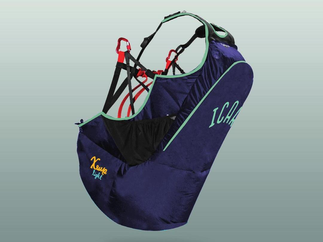 New paragliding harness Icaro Xema Light for sale