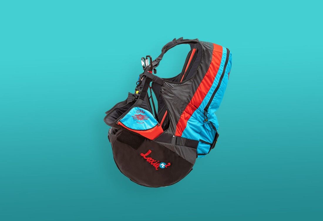New tandem paragliding harness Icaro Loxia2 for sale