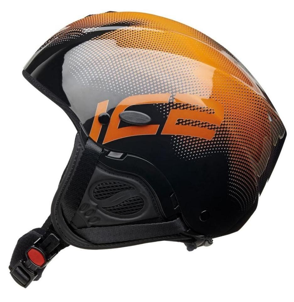 Buy paragliding helmet Icaro 2000 Nerv IC2 light black/orange for sale
