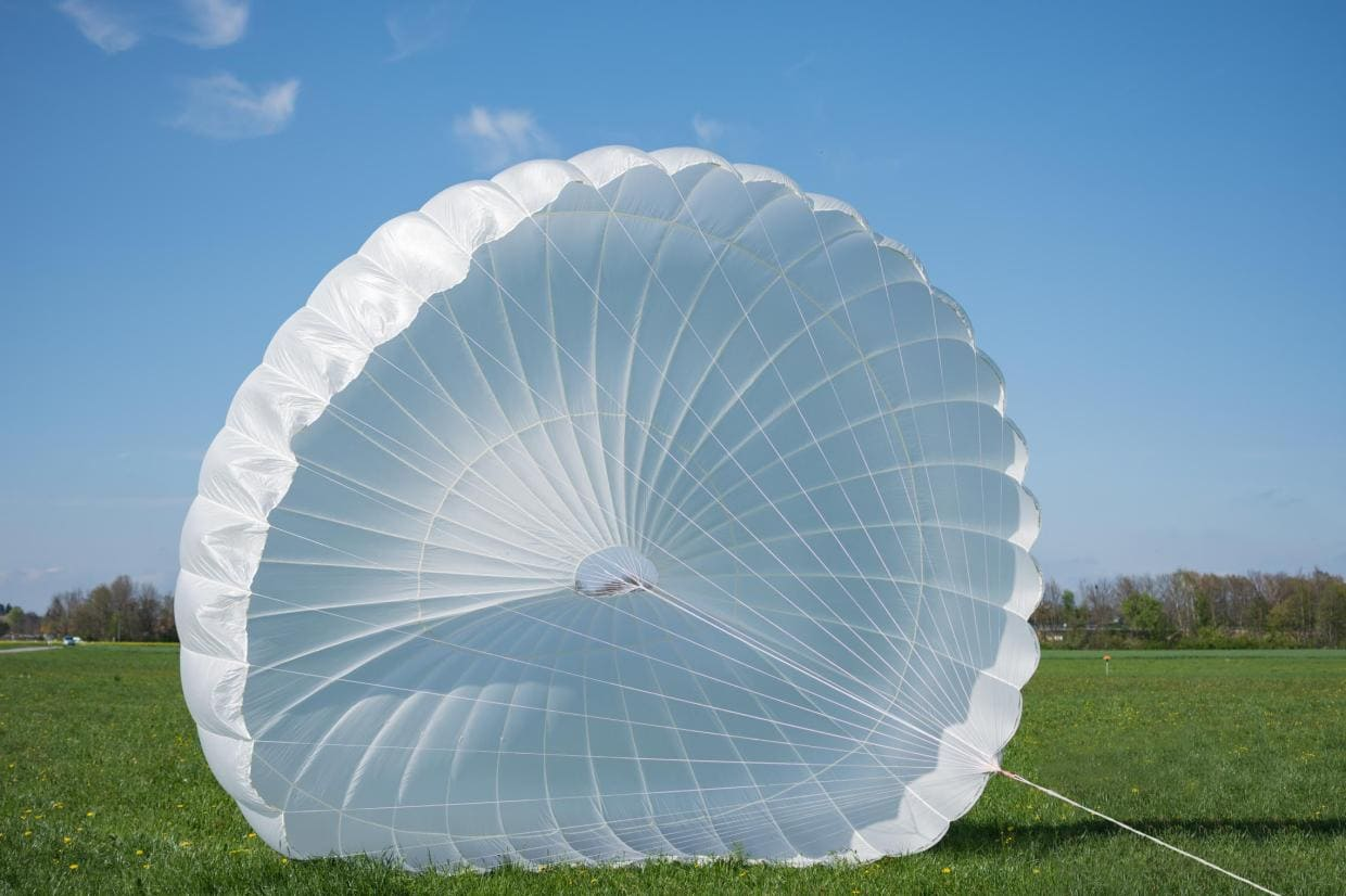 Tandem paragliding reserve parachute Icaro Light Biplace for sale