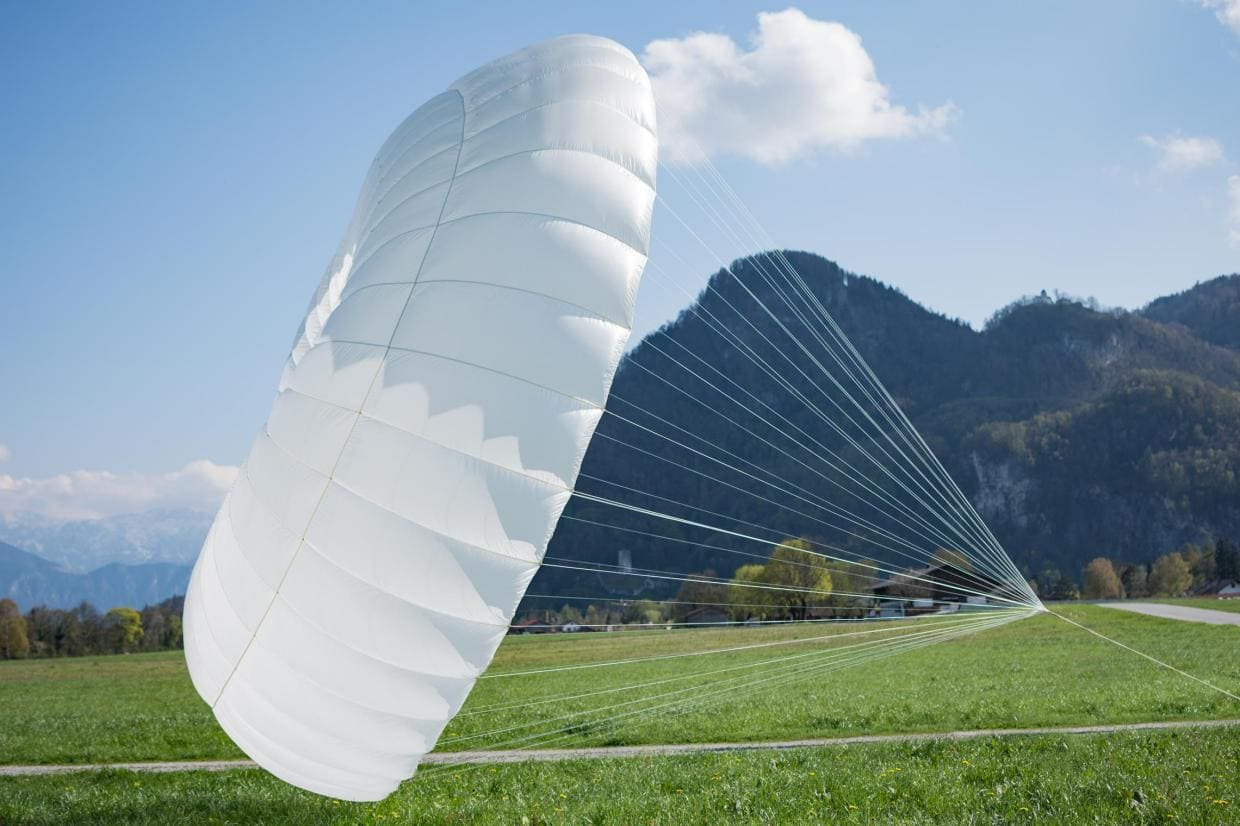 For sale Tandem paragliding reserve parachute Icaro Light Biplace