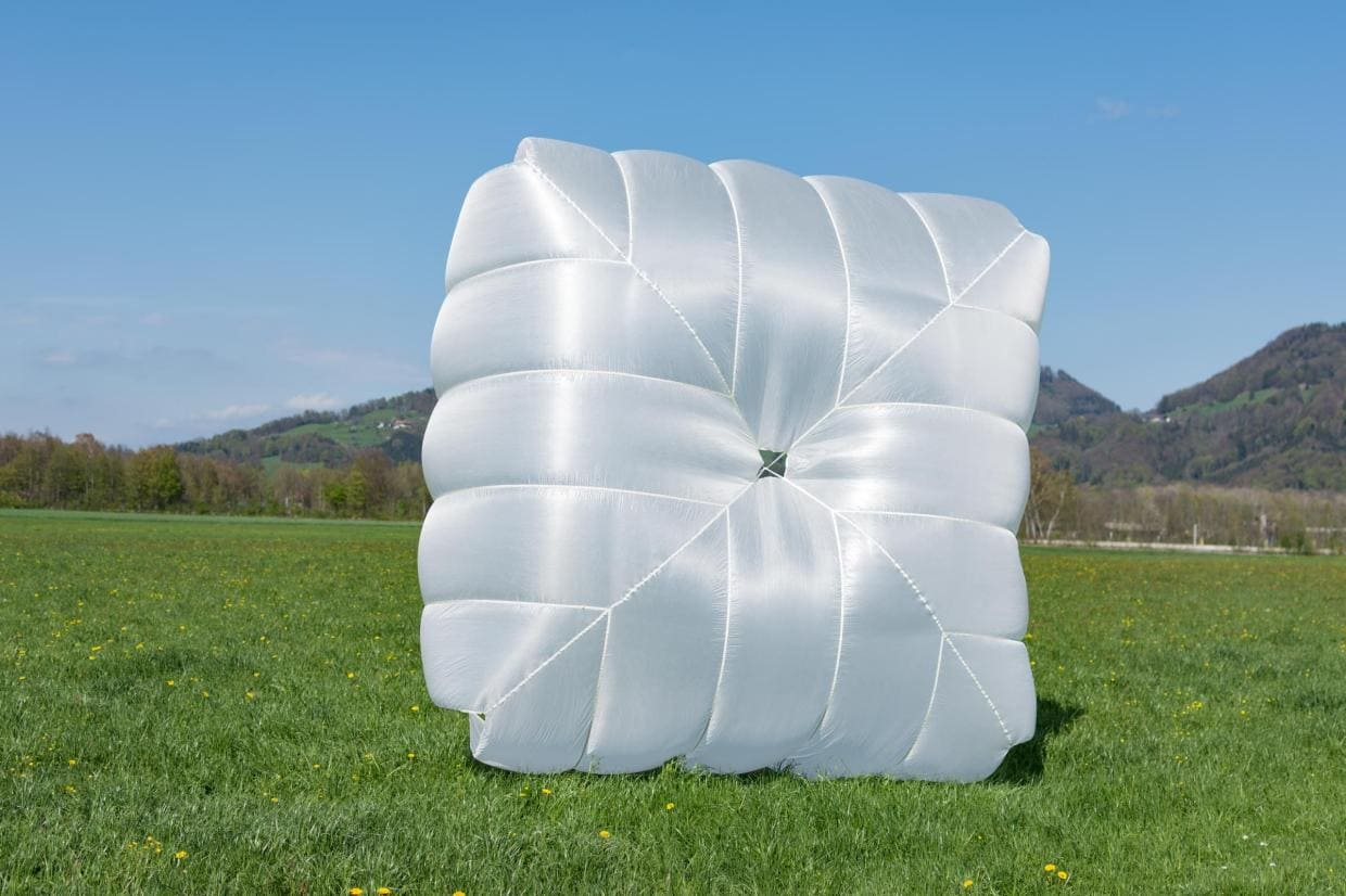 New paragliding reserve parachute Icaro Square 115 for sale