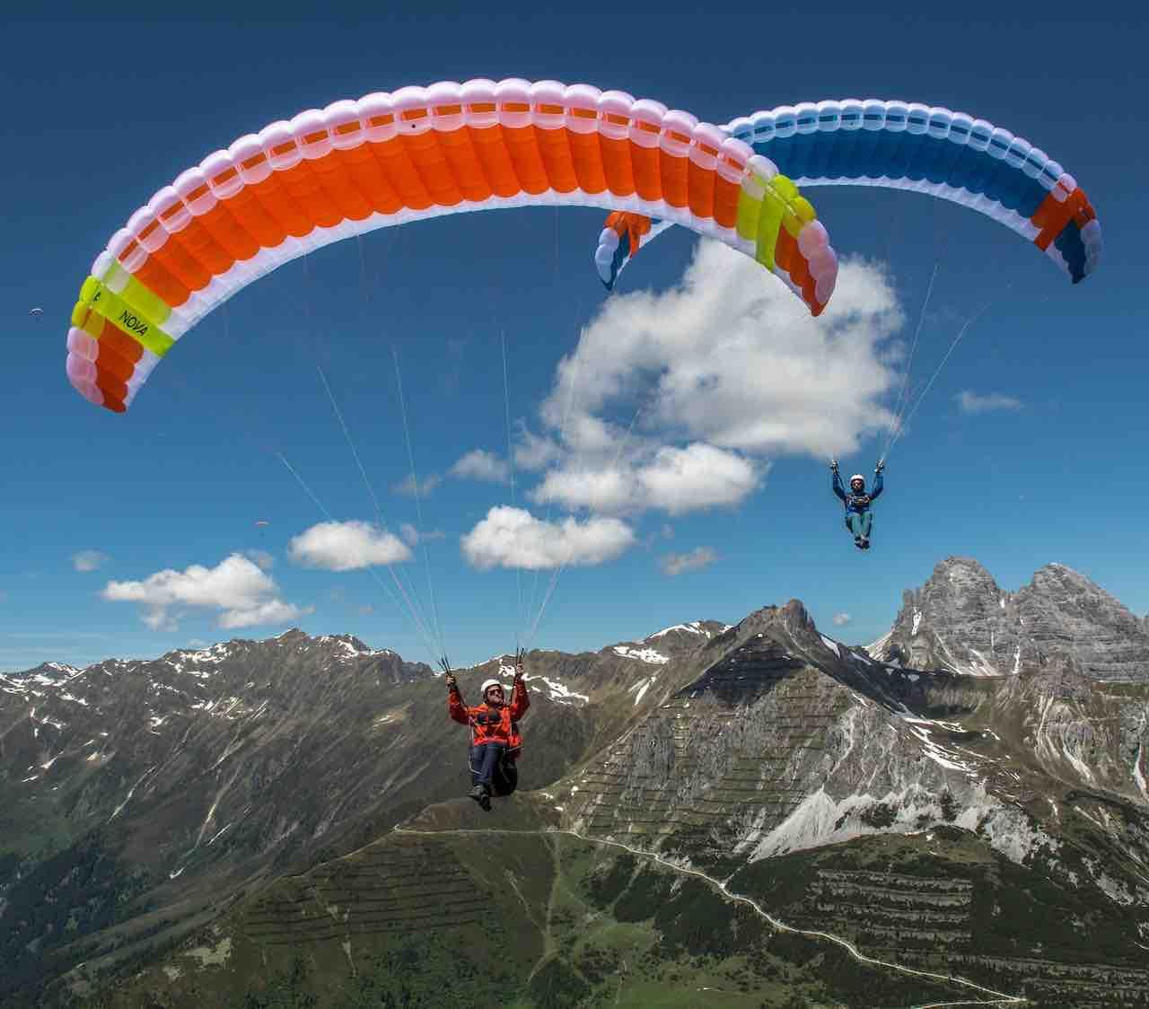 New design Nova paragliders