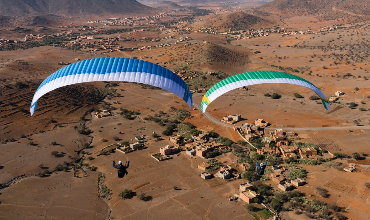 New paragliding wing Nova Ion 6 for sale