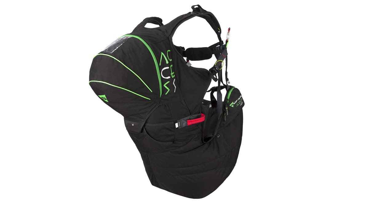 Paragliding harness SupAir Access Airbag for sale