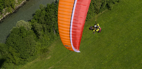 Tandem paraglider K2 3 for sale