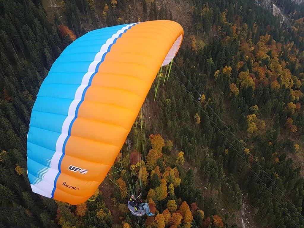 New glider EN A UP paragliders Accent 4 for sale