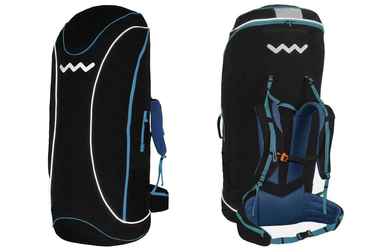 Buy new paragliding rucksack Woody valley for competition harnesses!