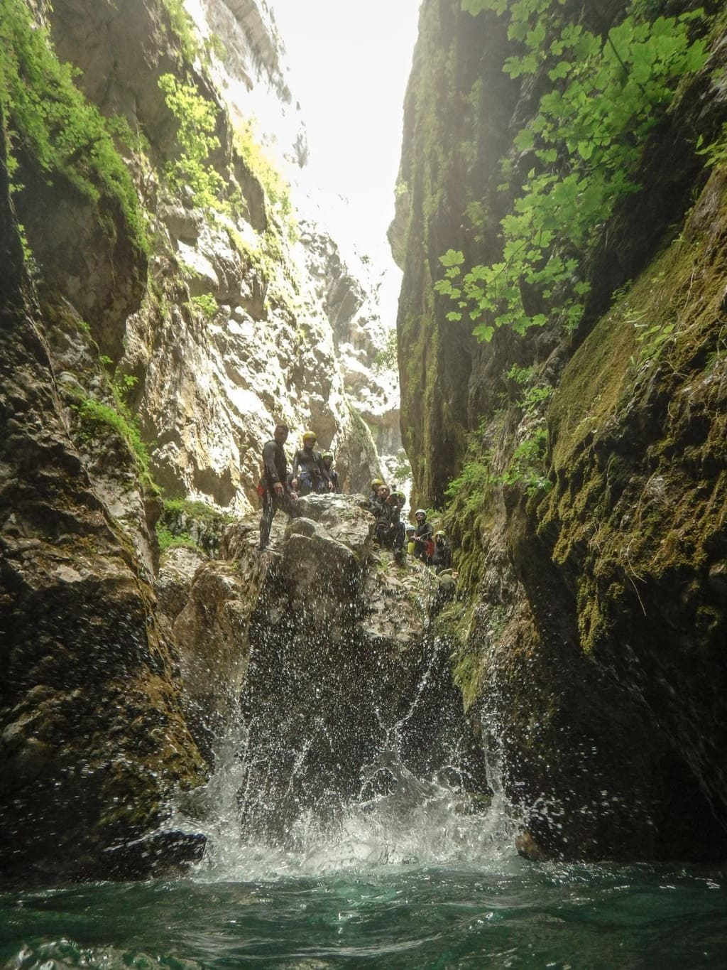 outdoor activity canyoning montengro2